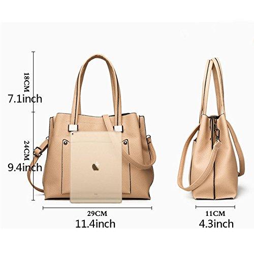Handle Casual Ladies B Fashion Bags Top Crossbody Large Bag Handbag Shoulder Women's Leather Tote Pu wPnqCfwUz