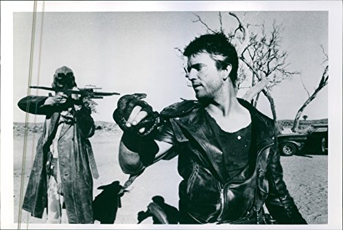 Vintage photo of Mel Gibson in movie39;Mad Max 239;.Mad Max 2 (also known as The Road Warrior and Mad Max 2: The Road Warrior) is a 1981 Australian post-apocalyptic action film directed by George Miller.