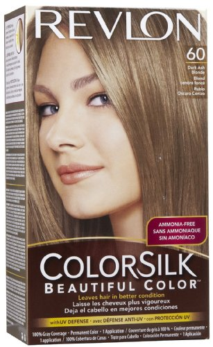 Revlon Colorsilk Permanent Color Dark Ash Blonde (6 Pack)
