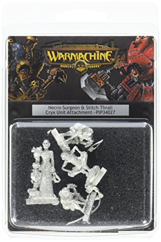 Privateer Press Cryx - Necro Surgeon and Stitch Thralls Model Kit (Across Stitch Kit)
