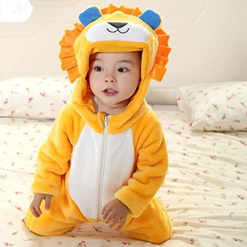 FidgetGear NB-24M - Disfraz de Halloween para bebé, 2. León, 6 ...