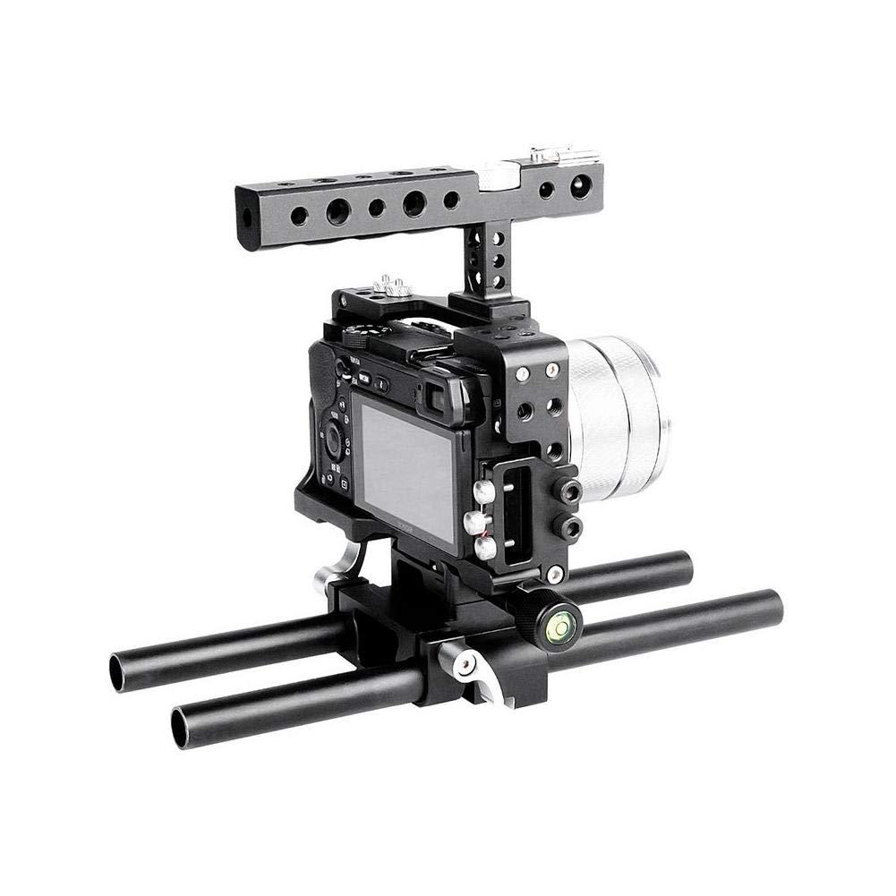 Simlug Kit de Jaula de cámara Estabilizador de Agarre con asa ...