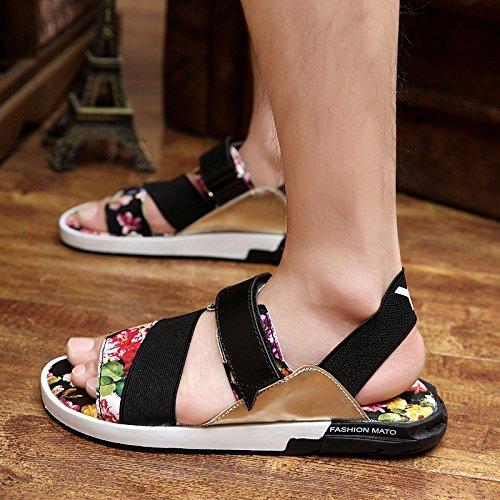 Das neue Frühling Männer Sandalen Sandalen Trend Schuh Trend Freizeit Männer Schuh ,Regenbogen,US=9,UK=8.5,EU=42 2/3,CN=44