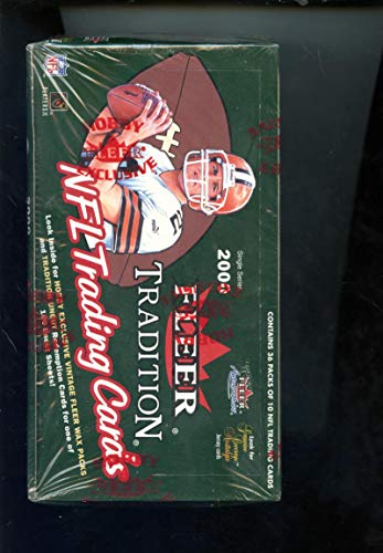 2000 Fleer Tradition Set NFL Football Card HOBBY Wax Pack Box Tom Brady Rookie