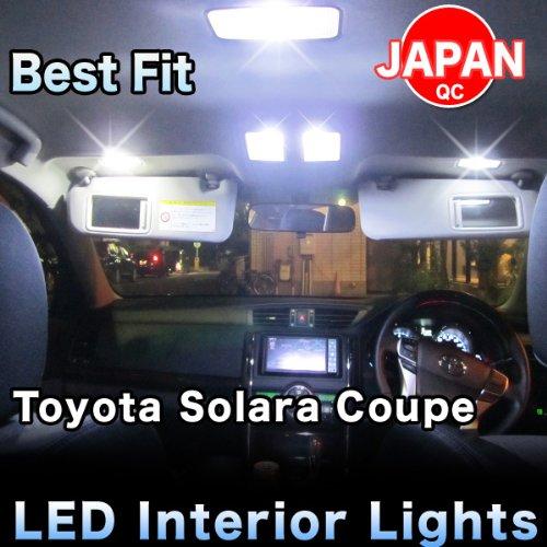 Solara 8 Light - LED lights Complete Interior Package 8 Pieces - Toyota Solara 2003.7`