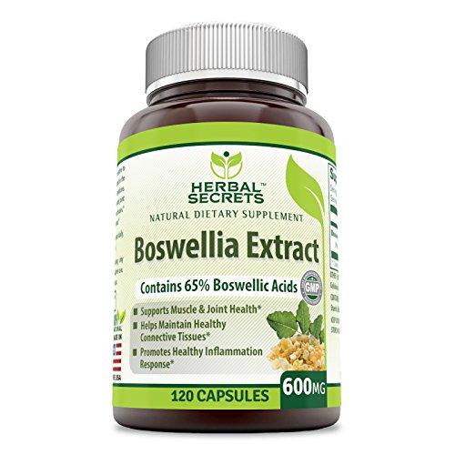 Herbal Secrets Boswellia Boswellic Capsules product image