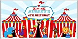 custom carnival - Circus Carnival Big Top Birthday Banner Personalized Party Decoration Backdrop
