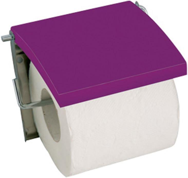 Rosa MSV Titolare di Seta Legno a Media densit/à in Acciaio Inox per la Carta igienica