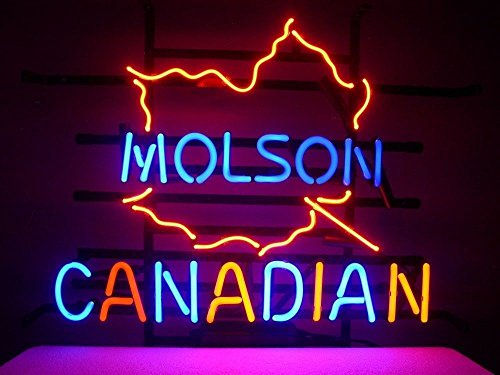 Molson Canadian Beer Neon Sign 24