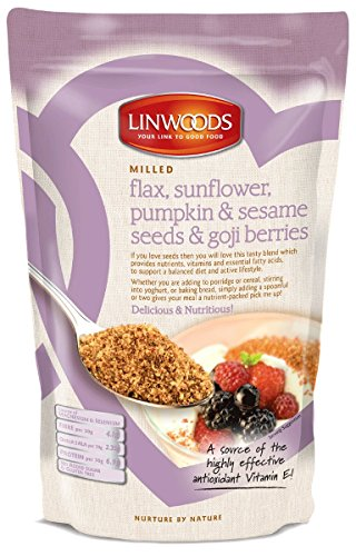 Linwoods Flaxseed, Sunflower/Pumpkin/Sesame Seeds/Gogi Berries, 8 Ounce