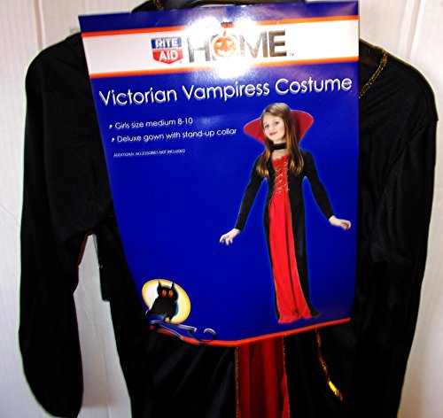 Victorian Vampiress Costume - Medium