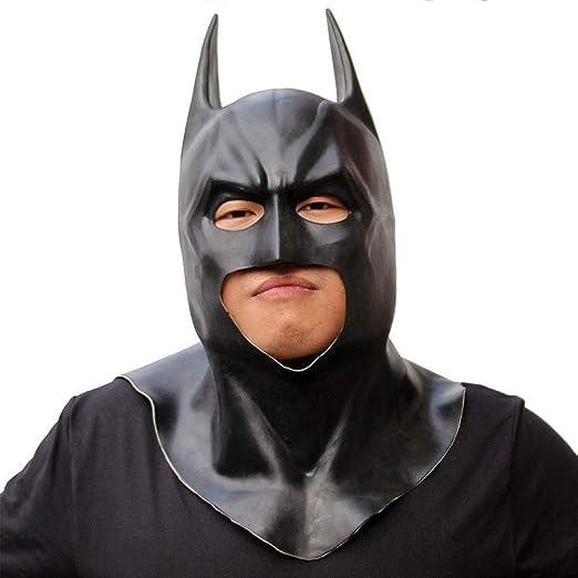 SEJNGF Máscara Negra De Batman Máscara De Caballero Oscuro Máscara ...