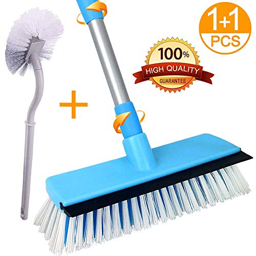 Lostcat floor scrub brush with long handle (30 to 50