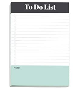 To Do List Notepad by Sweetzer & Orange - Magnetic Notepad Planners - Easy to Read Daily Todo Check Lists, Grocery Checklist, Daily Schedule Note Pad and More! Daily Task Planner Pad and List Maker