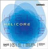 D'Addario Helicore Hybrid Bass Single A String, 3/4 Scale, Medium Tension