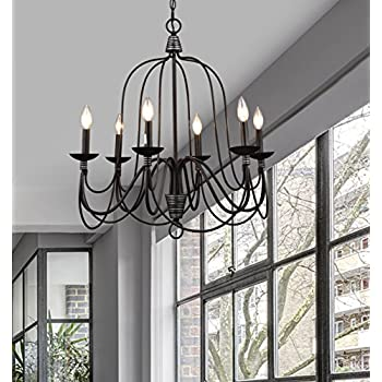claxy ecopower lighting industrial vintage 6lights candle chandeliers