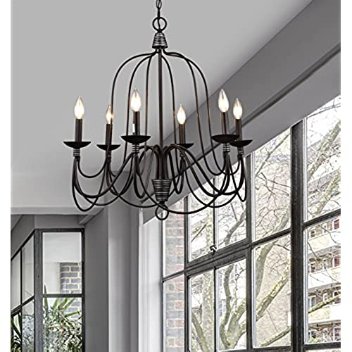 Farmhouse Entryway Chandelier: Farmhouse Chandelier: Amazon.com