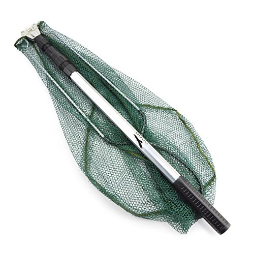 Telescopic fishing net freehawk 1pcs aluminum boat for Telescoping fishing net