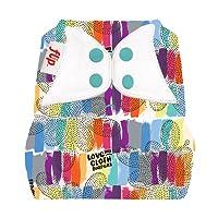 Flip: One-Size Snap Closure Diaper Cover (Love)