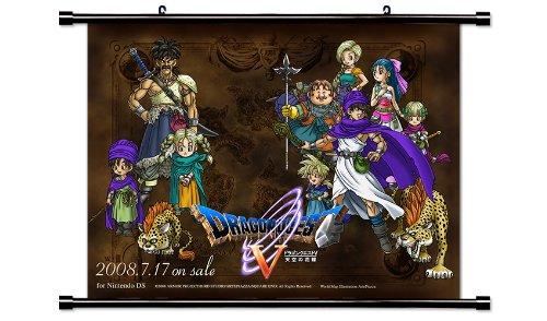 dragon quest wall scroll - 1