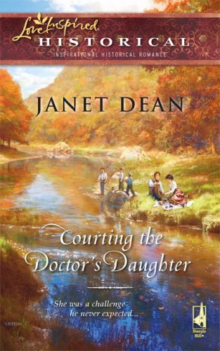 book cover of Courting the Doctor\'s Daughter
