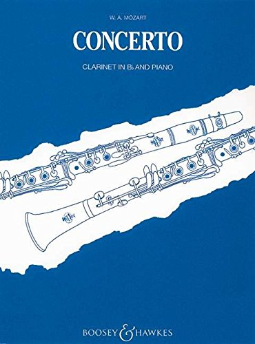 - Hal Leonard Mozart-Concerto for Clarinet in B-flat and Orchestra, KV 622