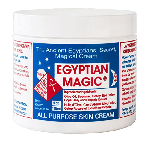 Price comparison product image Egyptian Magic All Purpose Skin Cream | Skin, Hair, Anti Aging, Stretch Marks | All Natural Ingredients | 4 Ounce Jar