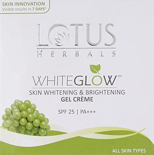 Image of Lotus Herbals Whiteglow Skin Whitening & Brightening Gel Creme SPF 25 60g
