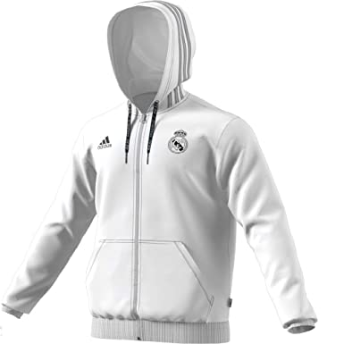 83671b3bc Amazon.com: adidas Real Madrid Full Zip Hoody: Clothing