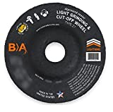 (25) Bullard Abrasives 24437 (4-1/2 x 1/8'') A30R Type 27 Depressed Center Pipeline, Light Grinding & Cut-Off Wheels. Premium Grade. 7/8 Arbor. 13300 Rpm. For Ferrous metals.