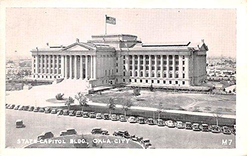 - State Capitol Building Oklahoma City, Oklahoma postcard
