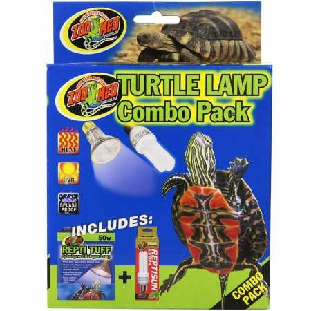 Zoo Med Turtle Lamp Combo Pack ()