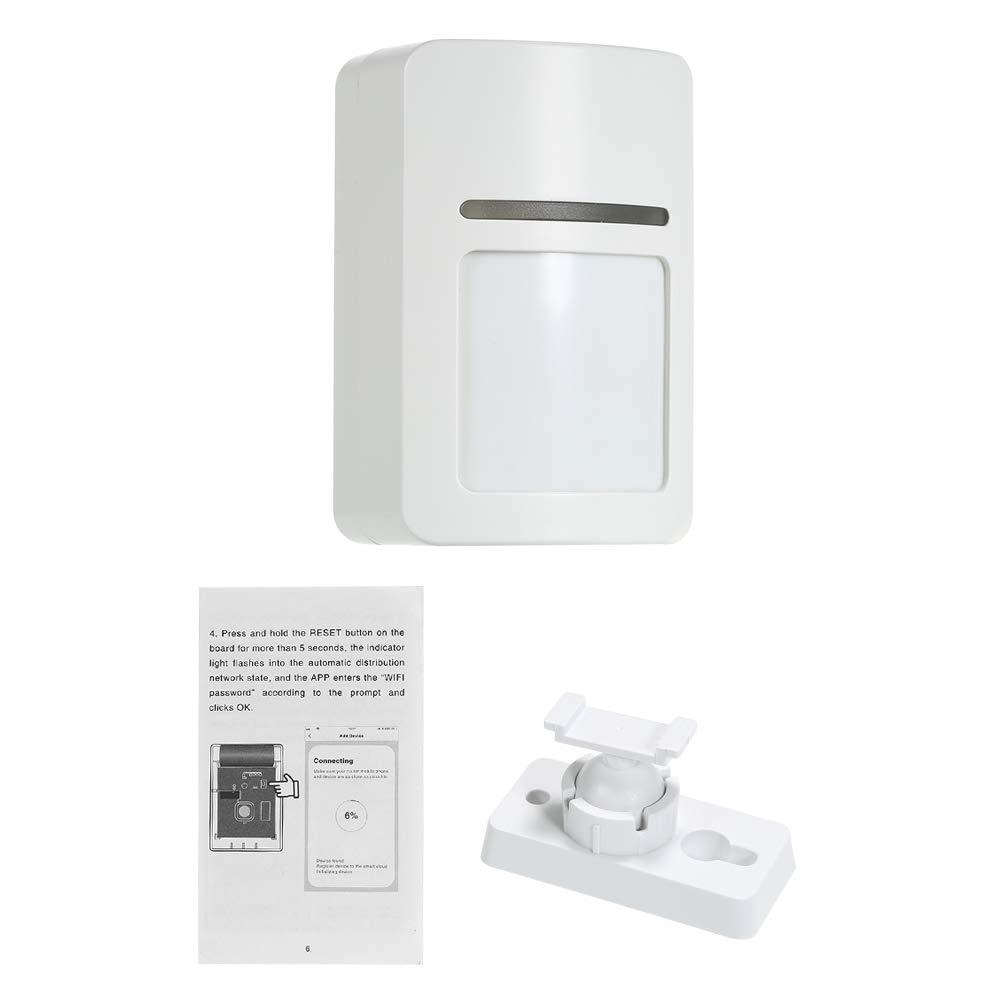 Capteurs Fen/êtres et Porte pour la S/écurit/é /à la Maison OWSOO Syst/ème dalarme sans Fil Intelligent,WiFi PIR de D/étecteur de Mouvement