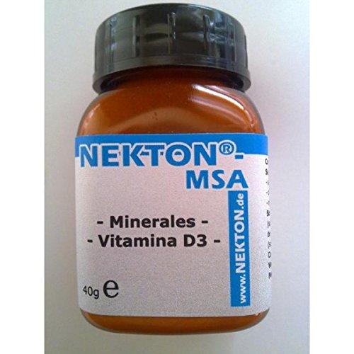 Minerales y vitaminas para tortugas, reptiles y pájaros. 40 gr