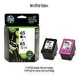 HP T0A36AN#140 65 Black & Tri-Color Original Ink Cartridges, 2 Cartridges (N9K01AN, N9K02AN)