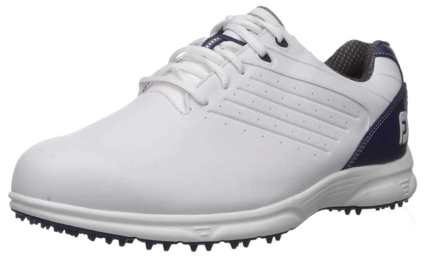 FootJoy Men's FJ ARC SL-Previous Season Style Golf Shoes White 10.5 M Navy, US by FootJoy