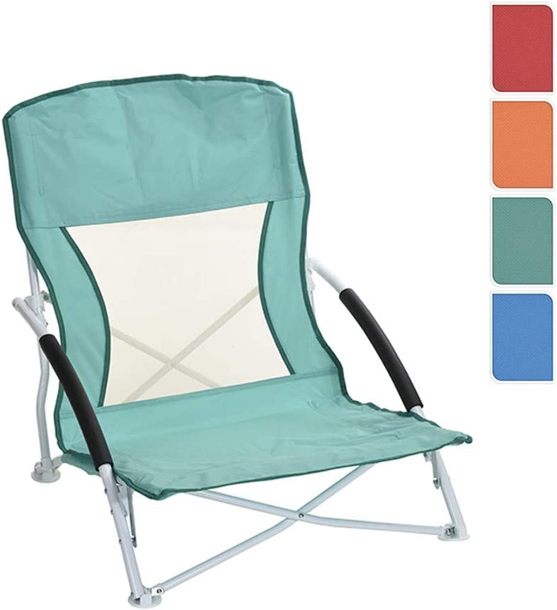 Silla de playa camping Silla F110 – Silla plegable para silla de jardín, azul: Amazon.es: Hogar