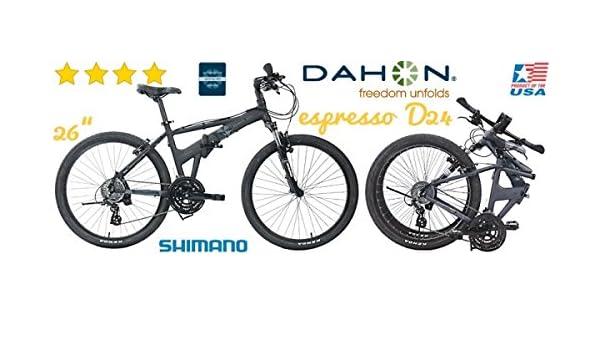 Dahon Espresso D24 26/24 marchas/horquilla - Novedad de: Amazon.es: Deportes y aire libre