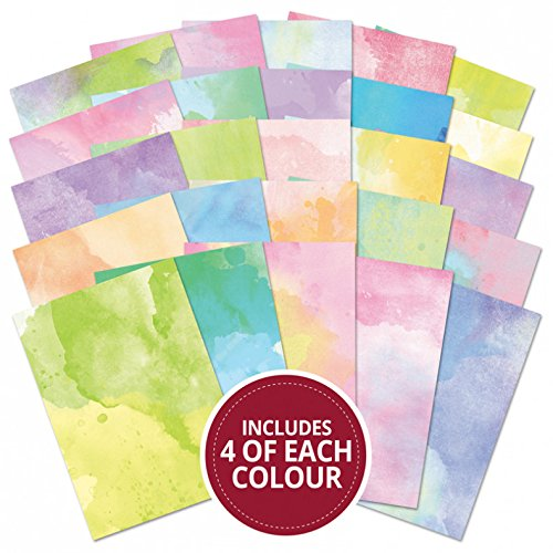 Hunkydory 100 A4 Sheets Adorable Scorable Pastel Watercolors Edition AS721