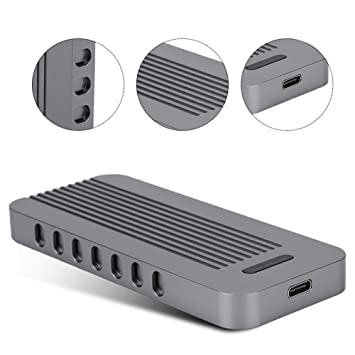 SSD Externo Portátil, Unidad de Estado Sólido USB3.1 Móvil, Caja ...