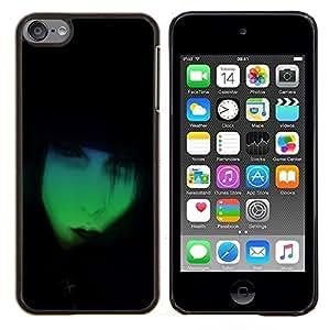 Eason Shop / Premium SLIM PC / Aliminium Casa Carcasa Funda Case Bandera Cover - Neon Goth - For Apple iPod Touch 6 6th Touch6