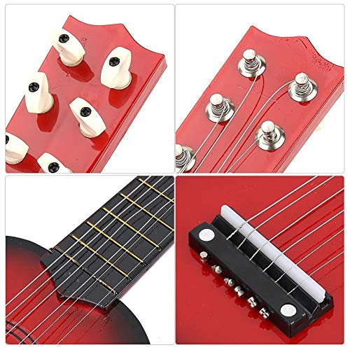Drfeify Guitarra Infantil, 21inch Niños Guitarra Instrumento ...