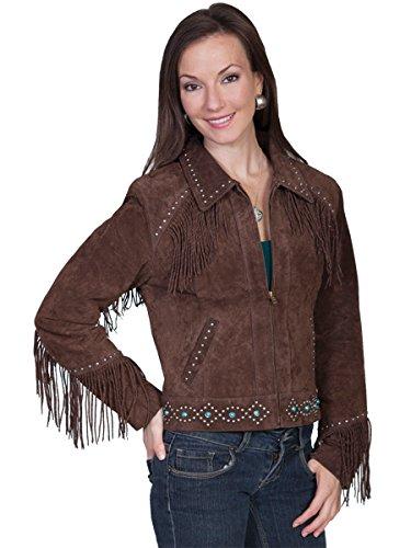 Studded Fringe Jacket - 1
