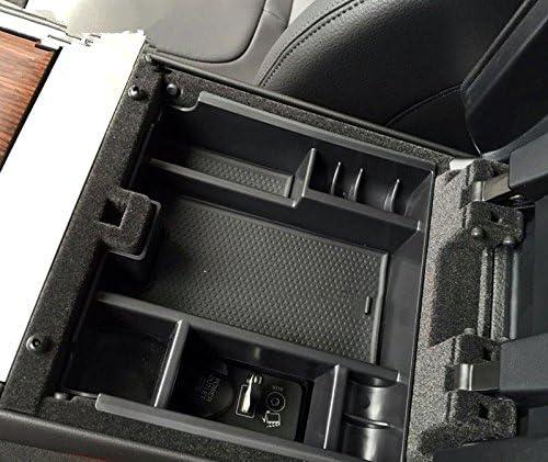 Interior de pl/ástico Apoyabrazos Caja de almacenamiento organizador soporte para MIC 1pcs para coche accesorios Kasr