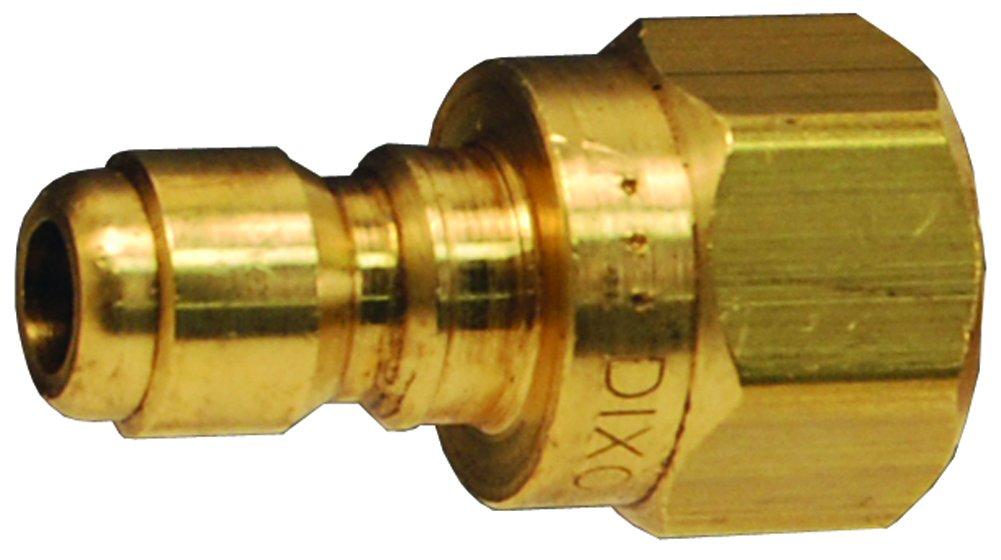 Dixon STFP10 1-1/4'' Straight Through Femaleale Plug, 1-1/4'' -11.5 Female NPTF, 1.25'' ID, Steel
