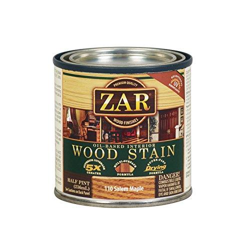 ZAR 11006 Wood Stain, 1/2PT, Salem Maple ()