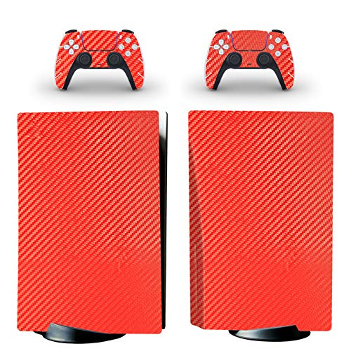 gotor Vinyl Skin Decals Cover Wrap Sticker Faceplate for PS5 Playstation 5 Console and 2 Controllers Skins (Playstation 5 (Not The Digital Edition), B16)