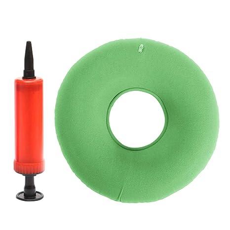 Amazon.com: Cojín inflable de PVC para adultos con forma de ...