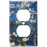 Art Plates - Van Gogh: Almond Blossoms Switch Plate - Outlet Cover