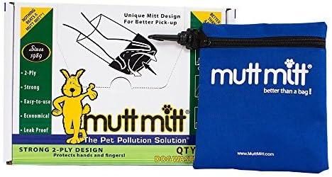 Mutt Mitt Dog Waste Pick up Bag, 200-Count